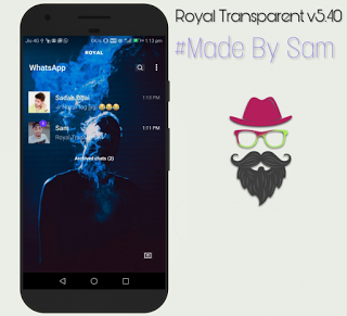 Royal WhatsApp Transparent Mod Apk
