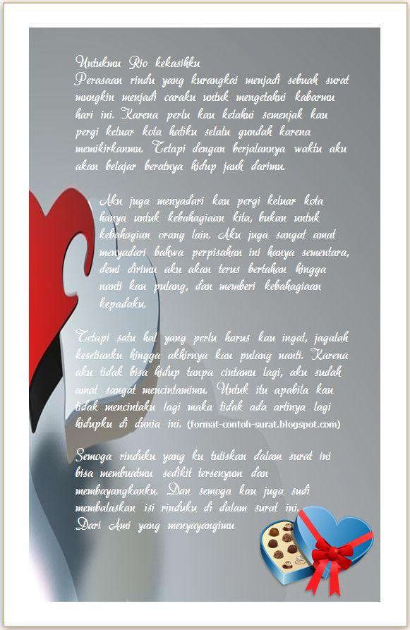 Surat Cinta Romantis Untuk Cowok