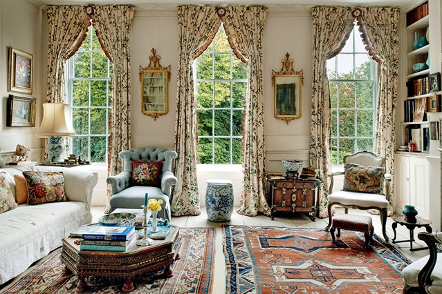 D cor the twickenham home of lady wakefield cool chic for Interior design english style