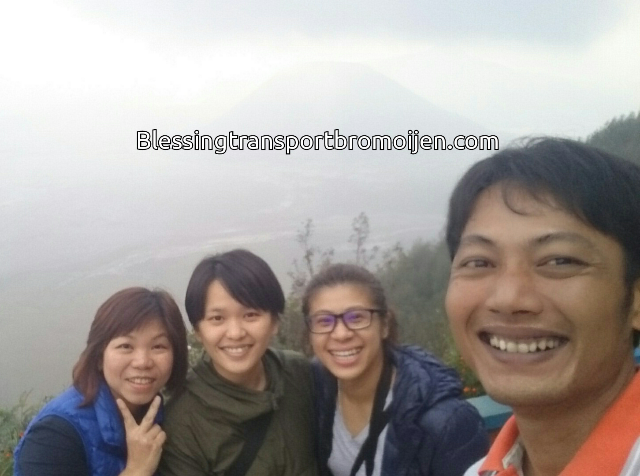 Lena and friends(SG), transport for Bromo 2D1N. Sept 9th,2016