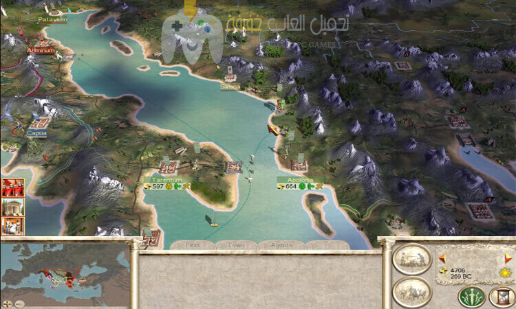 تحميل لعبة 1 Rome Total War بحجم صغير