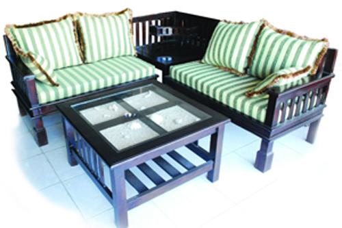 Kursi Tamu Ini 2 Seat X Dengan Meja Sudut Dan Tengah Hiasan Pasir Kerang Co Untuk Ruang Yang Kecil Ukuran Keseluruhan