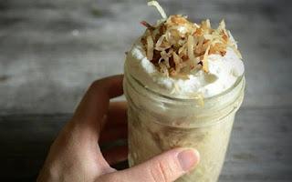 hình ảnh kem cà phê dừa