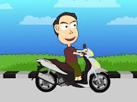 Tips Berkendara Motor Yang Baik (2D Animation)