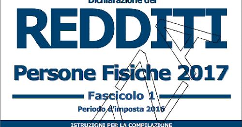Scadenza modello unico 2018 for Scadenza redditi 2017