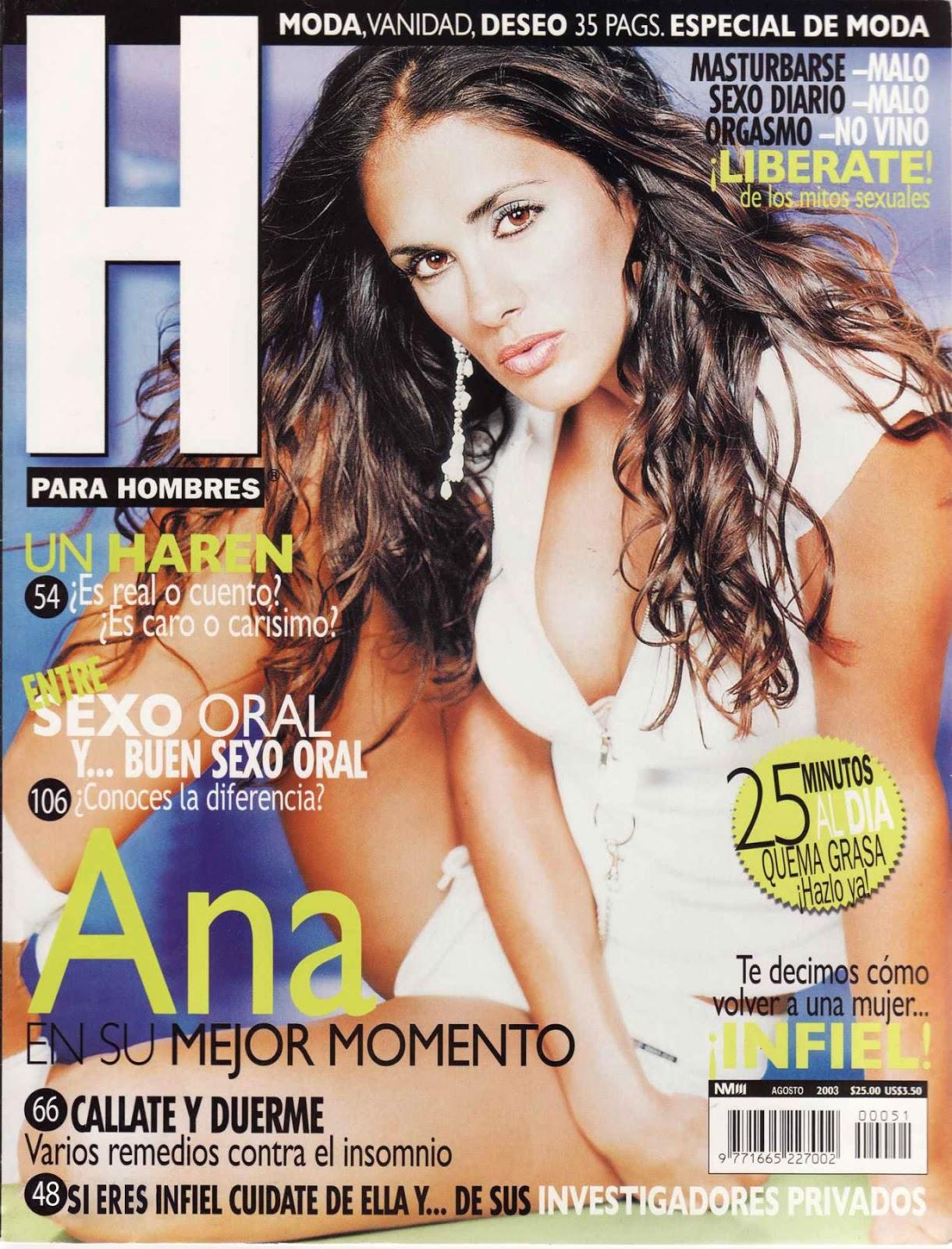 Ana La Salvia Revista H Agosto 2003-solorevistah.com