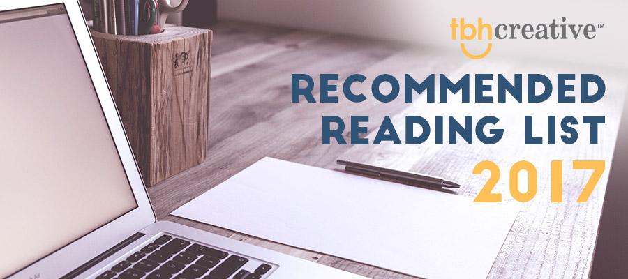 TBH Creative Reading List 2017