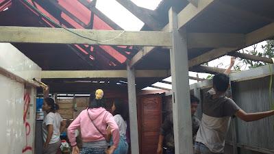 Cuaca Ekstrem, 98 Rumah Warga Diobrak-abrik Anging Kencang di Sabbangparu