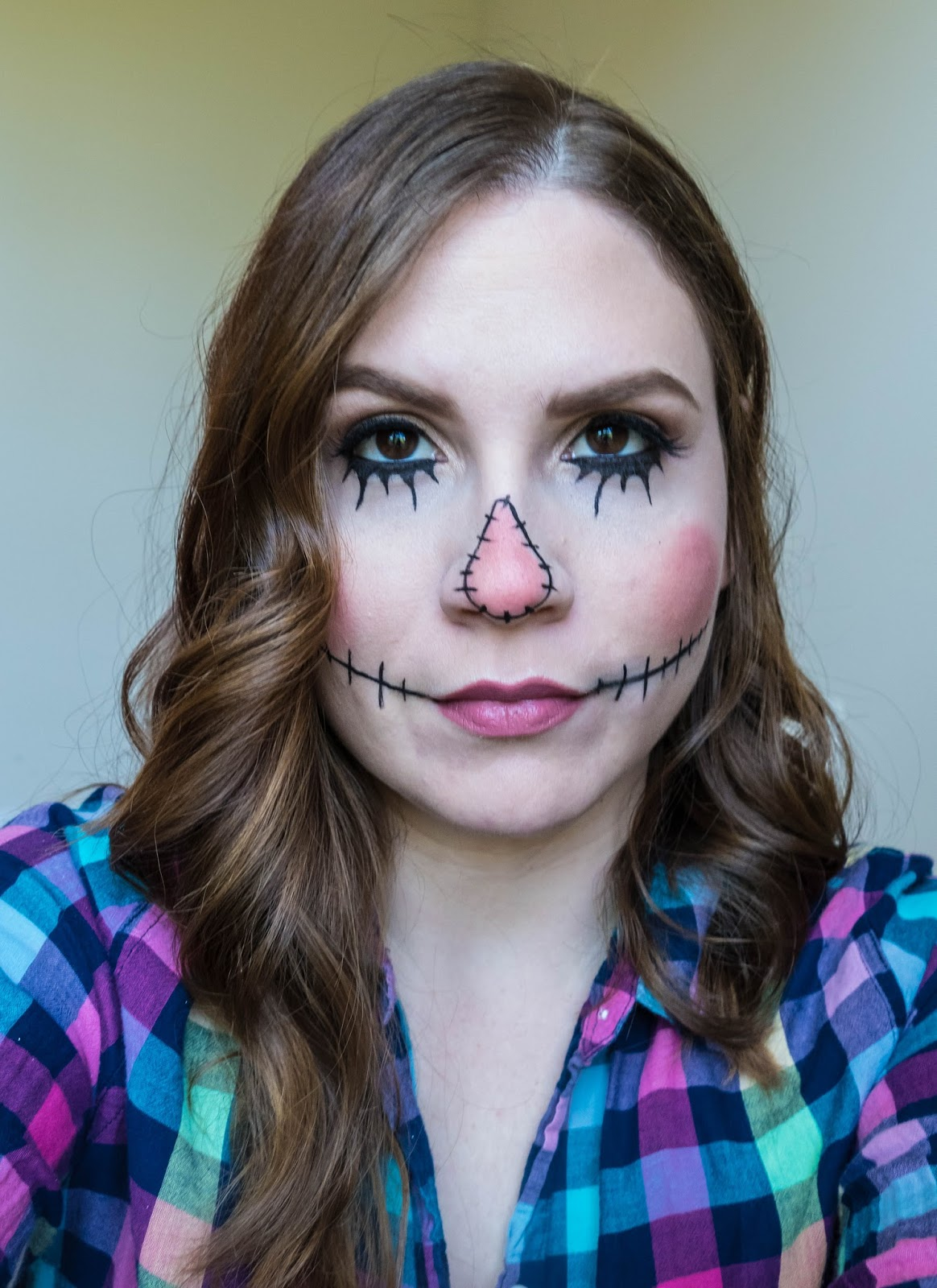 Mrs Frances Marie: BEAUTY: HALLOWEEN SCARECROW MAKEUP