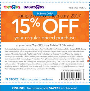 Toys R Us coupons february