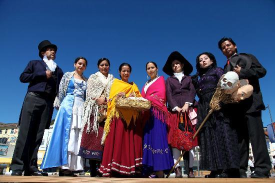 Los amigos de Quito Eterno en acción con su trabajo colaborativo y lúdico