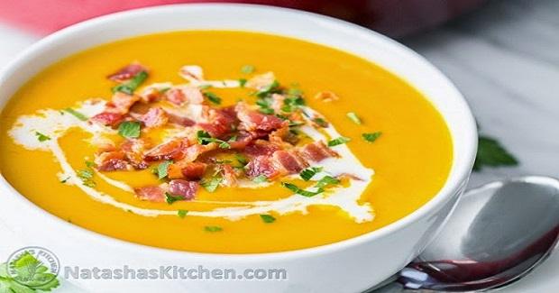 Creamy Sweet Potato Coconut Soup Recipe