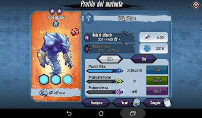 Mutants: Genetic Gladiators Breeding video N°466 (Liquidator - Demon # Il Liquidatore - Demonia)
