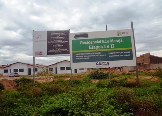 Imagem do Residencial ECO Marajá (Foto: Idalgo Lacerda)