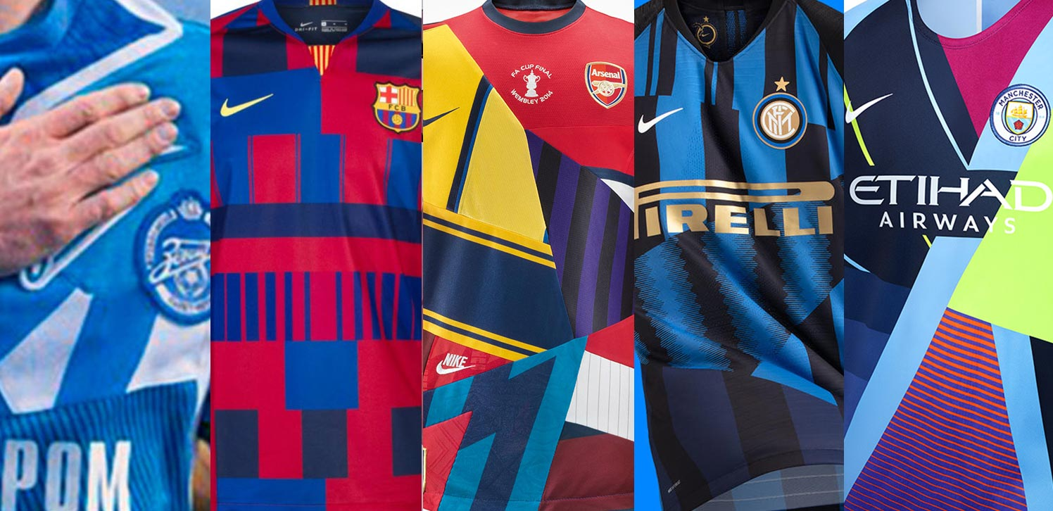 new product 9047f affb9 More Coming - Here Are All Nike Mash-Up Kits Created So Far ...