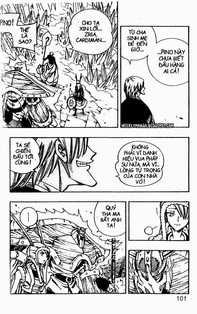 Shaman King [Vua pháp thuật] chap 134 trang 11