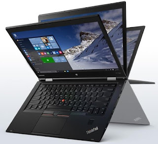 design menggoda laptop Lenovo ThinkPad X1 Yoga