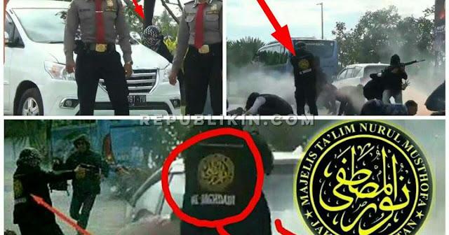 "Simulasi Teroris Gunakan Simbol ""Nurul Musthofa"", Polda Bali Dinilai Menista Islam dan Langgar UU"