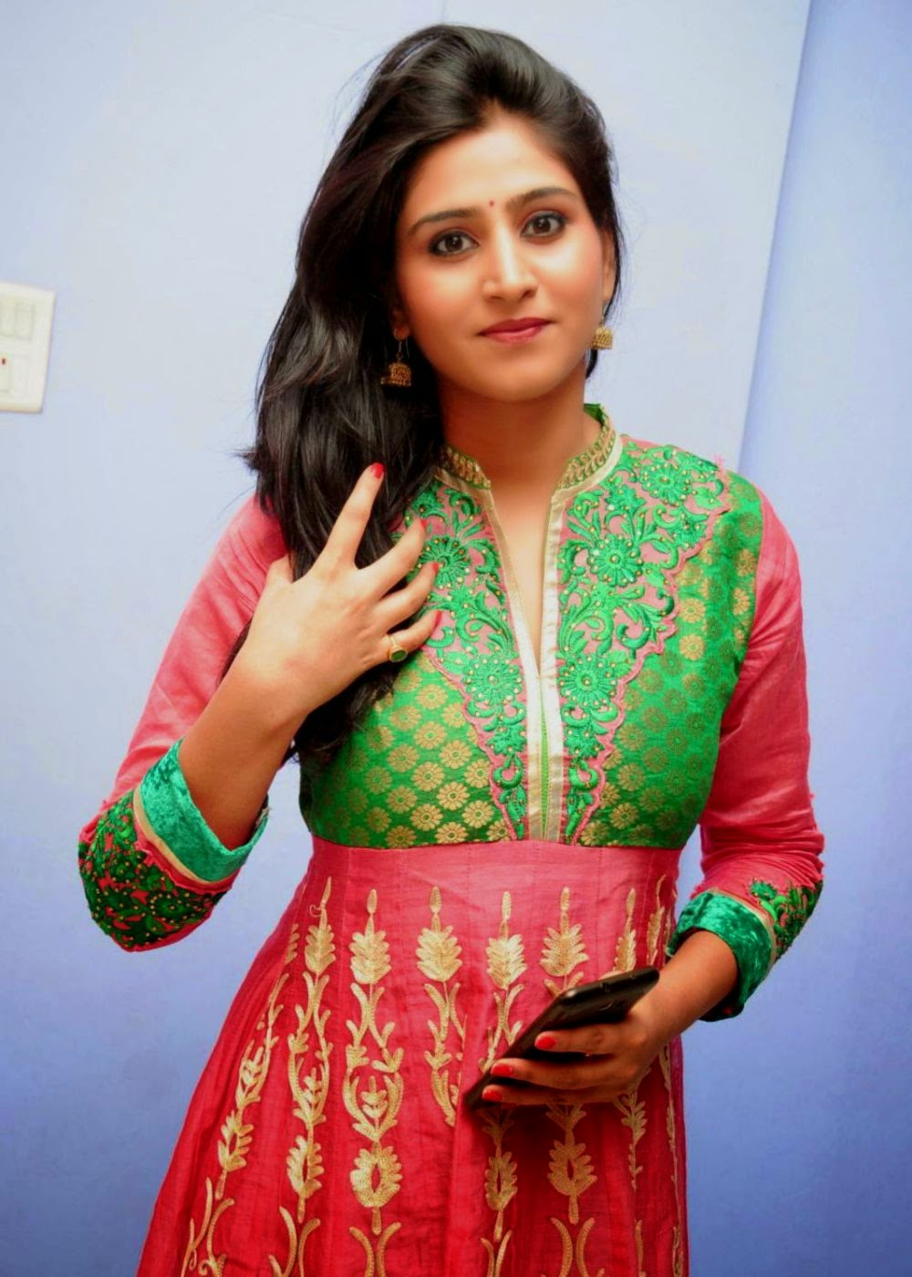 Glamorous Shamili Hot Photos In Red Dress