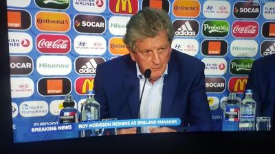 Roy Hodgson Mengundurkan Diri Usai Inggris Tersingkir