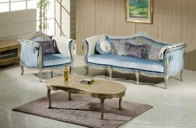 model sofa tamu mewah