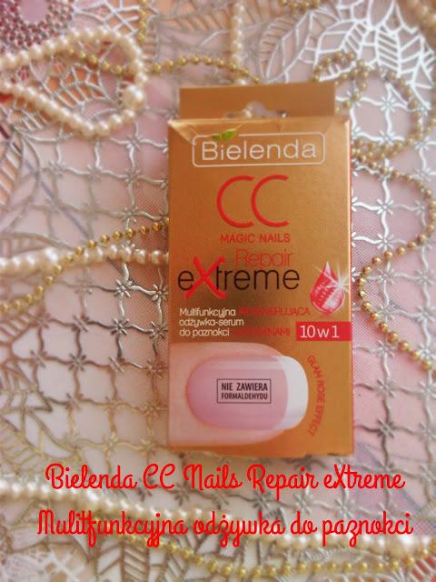 Bielenda CC Magic Nails Repair Extreme- czy pomogła moim paznokciom?