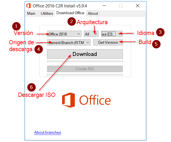 Download ISO Office 2016
