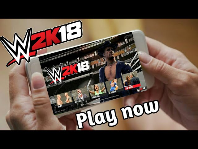 ⬆⬆Download wwe 2k18 game for android|100% real|work in all phones