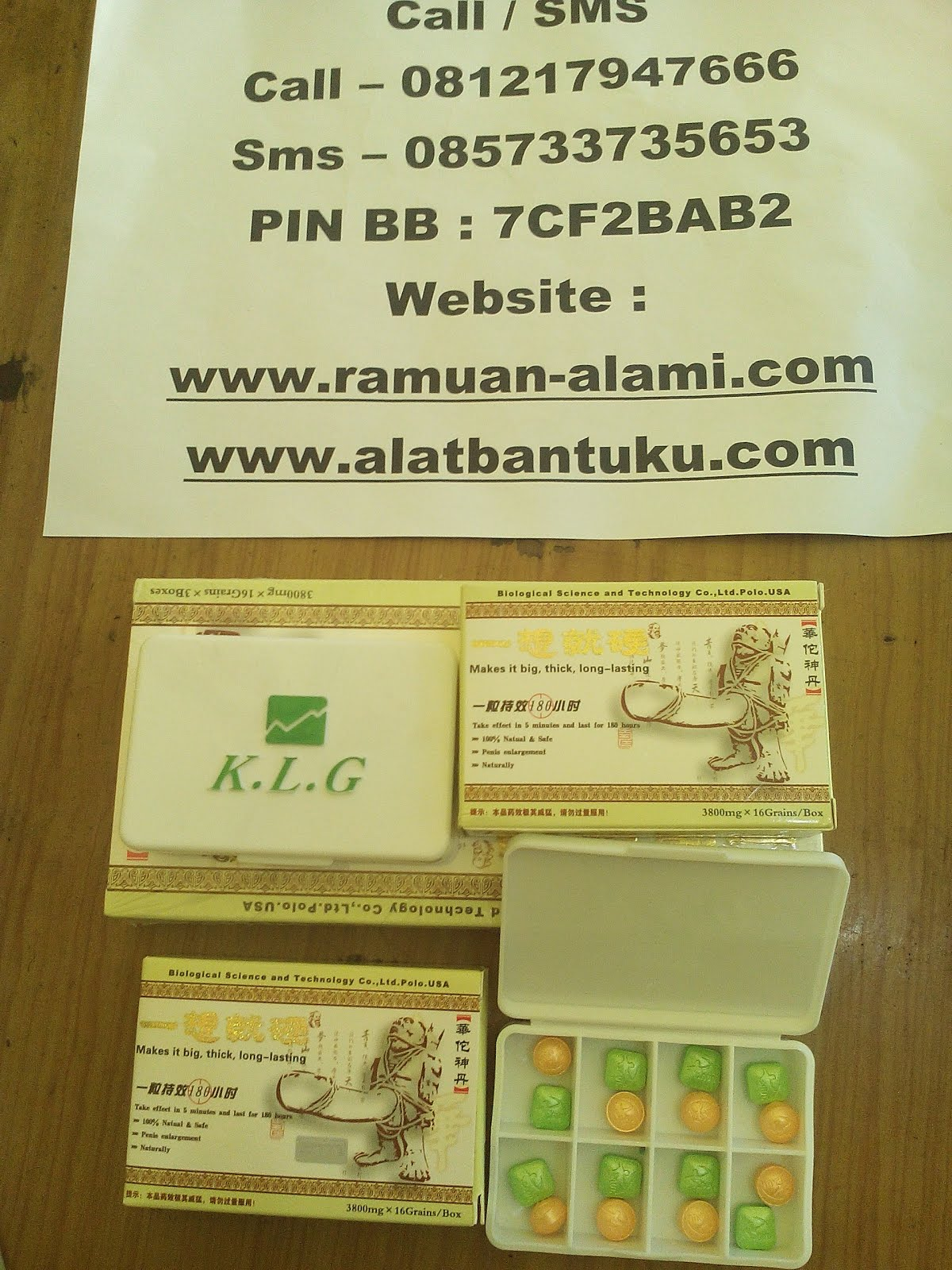 PIL KLG PEMBESAR HERBAL