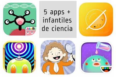 Apps infantiles para niños de ciencia