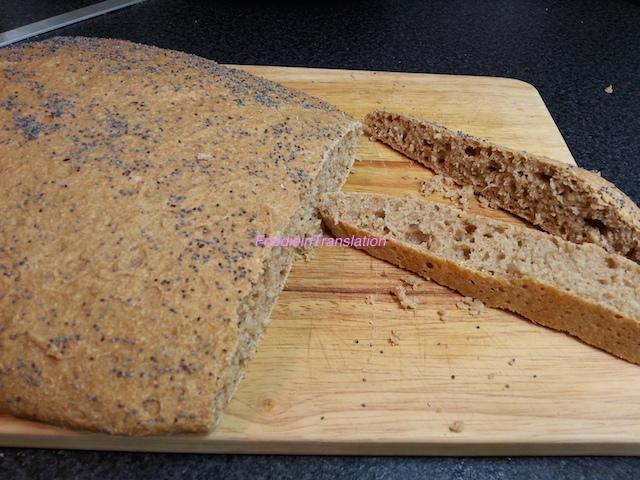 Pane al farro senza impasto