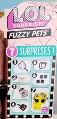 Сюрпризы L.O.L. Fuzzy Pets