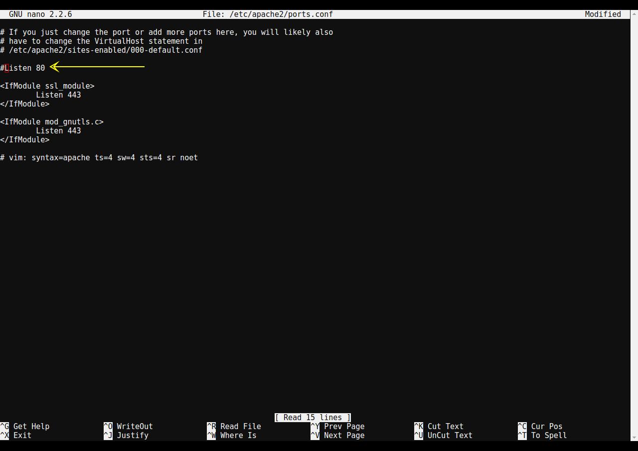 Configuring Apache Port-based Virtual Host on Ubuntu 14 04 Trusty