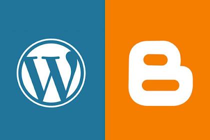 Perbandingan antara Wordpress dengan Blogger
