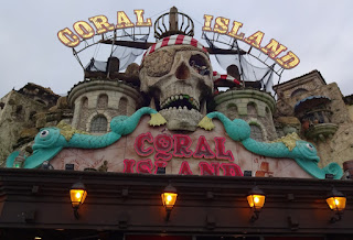 Coral Island amusement arcade in Blackpool