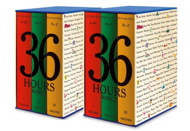 36 hours - Travel books - Taschen