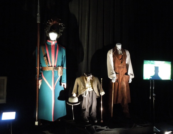 Oz Great Powerful movie costumes D23 Expo