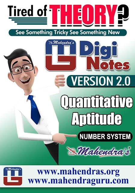 DIGI NOTES - 2.0 | NUMBER SYSTEM | 14.04.2017