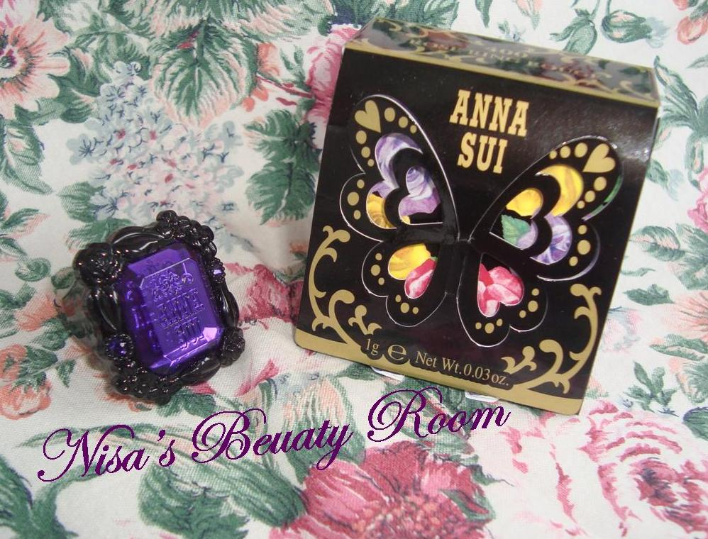 Review Anna Sui Rose Ring Rouge