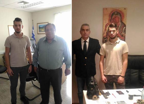 Πρέβεζα: Με τον νέο Πρόεδρο του ΤΕΙ Ηπείρου, κ.Τζίνα και με τον Βουλευτή Σ.Γιαννάκη, συναντήθηκαν εκπρόσωποι της ΔΑΠ-ΝΔΦΚ ΤΕΙ Πρέβεζας