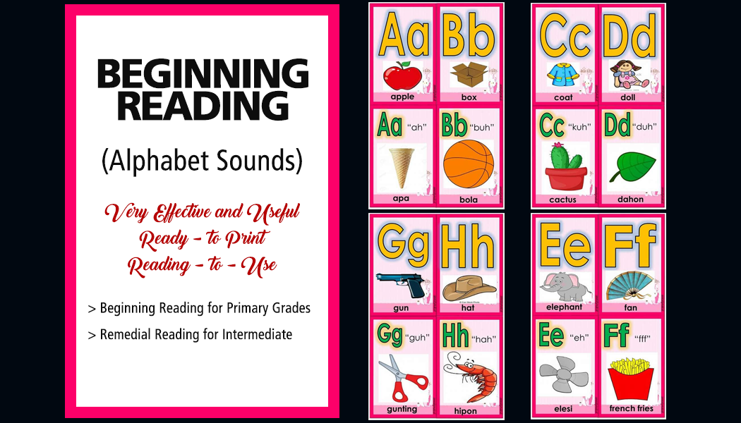 Beginning and Remedial Reading (Alphabet Sounds) - DepedClick