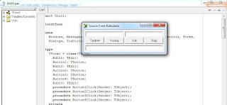 Contoh Source Code Kalkulator Sederhana Dengan Delphi 7