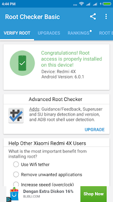 how to root xiaomi redmi 4x [ayobelajarandroid]