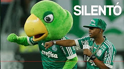 Bastidores da visita do rapper Silentó ao jogo do Palmeiras
