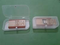 Jual USB Kayu Putar - Flashdisk kayu Putar
