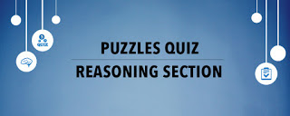 Reasoning for Bank Exams-Puzzle Test