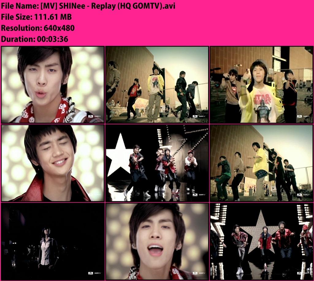 MV] SHINee - Replay | BaMbIMiRi MV HD Download