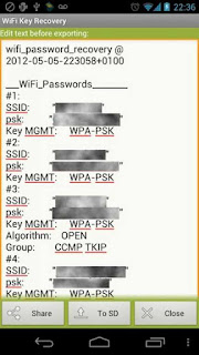 Melihat Password Wifi