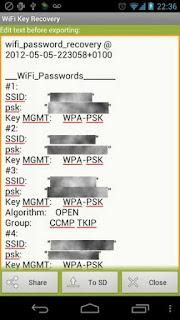 Melihat Password Wifi