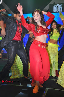 Telugu Actress Angela Krislinzki Spicy Dance Performance in Red Dress at Rogue Audio Launch 13 March 2017  0001.jpg